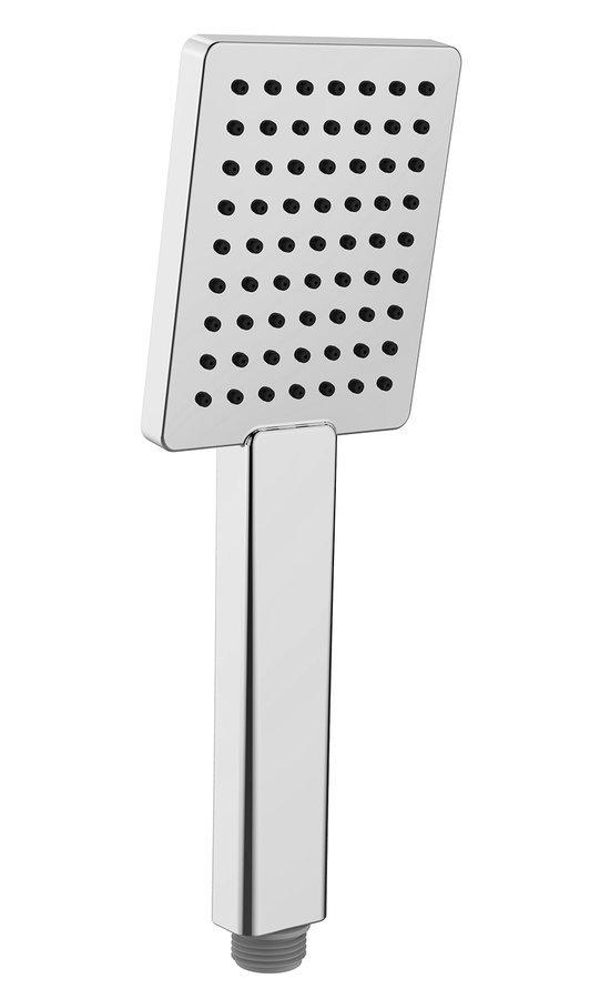 Ruční sprcha, 251mm, hranatá, ABS/chrom