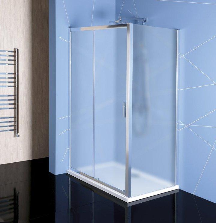 Easy Line obdélníkový sprchový kout 1100x800mm L/P varianta, brick sklo