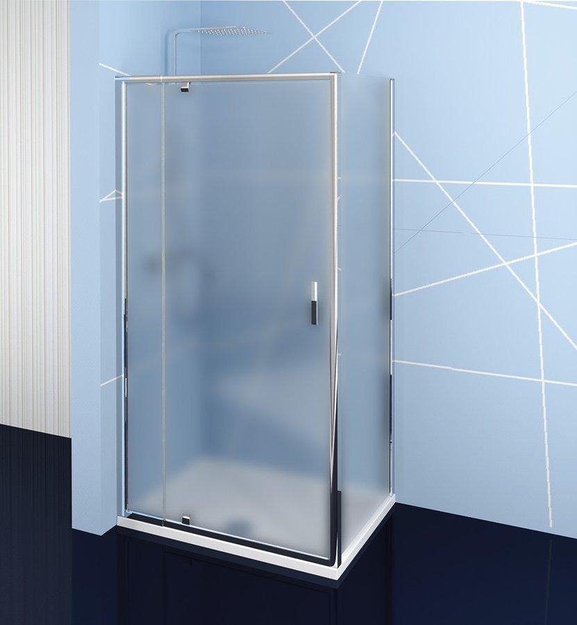 Easy Line obdélníkový sprchový kout pivot dveře 900-1000x700mm L/P varianta, brick sklo