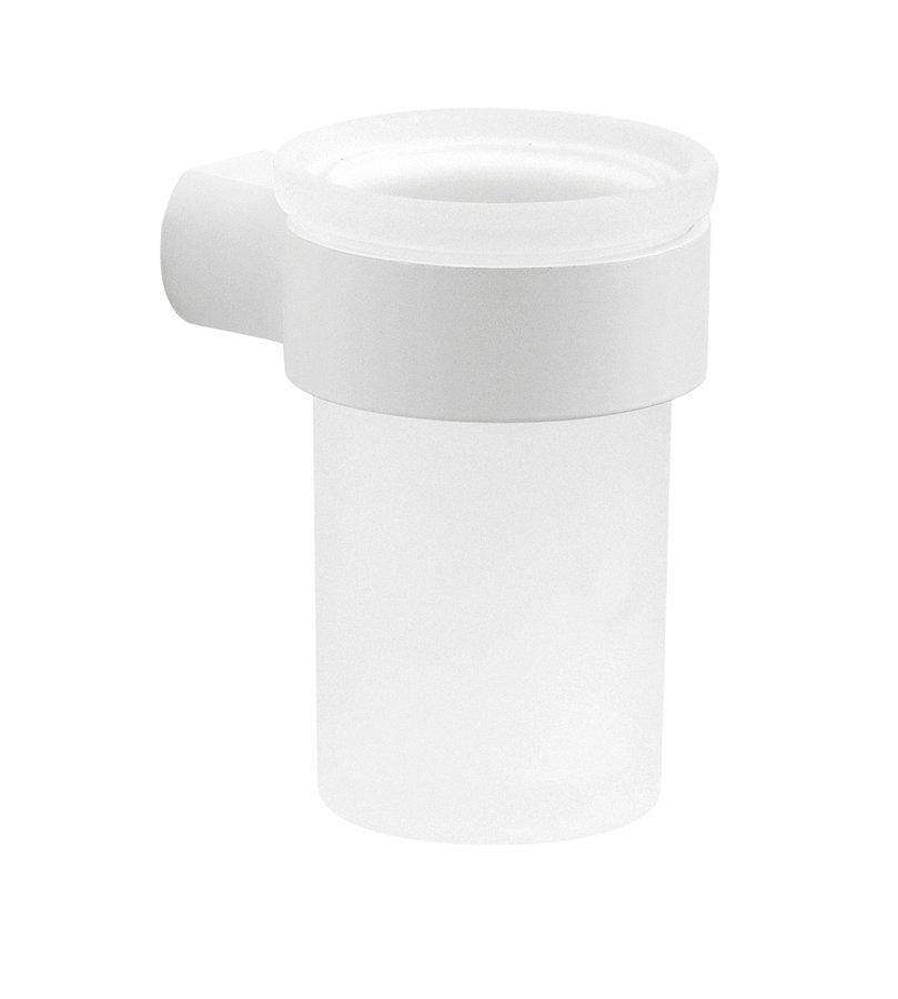 PIRENEI sklenka, bílá matná/mléčné sklo