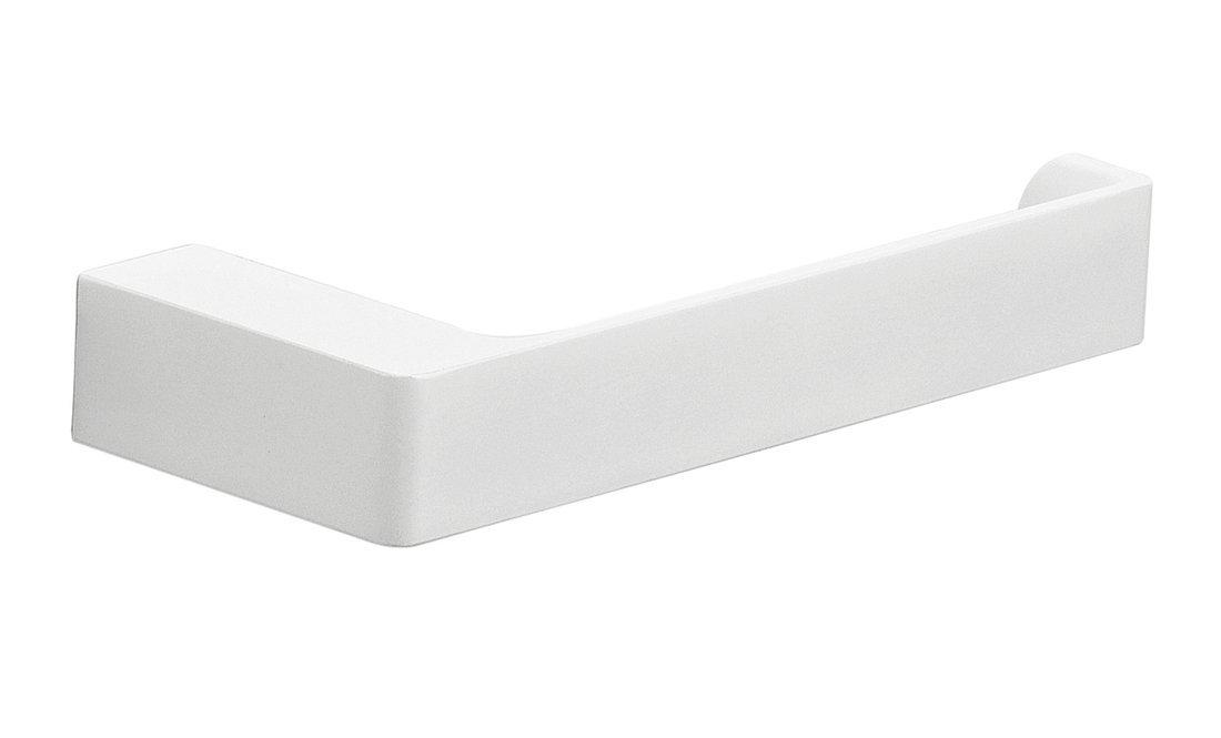 PIRENEI držák toaletního papíru bez krytu, bílá mat