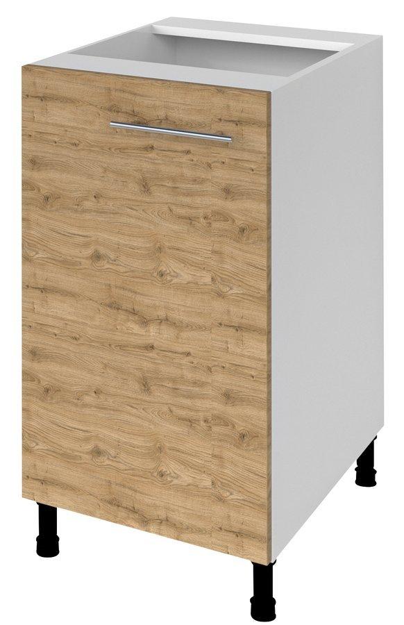 TERNO spodní skříňka s dvířky, 40x72x52 cm, dub emporio