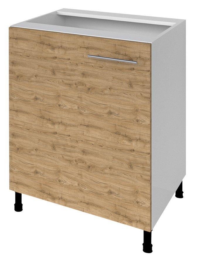TERNO spodní skříňka s dvířky, 60x72x52 cm, dub emporio