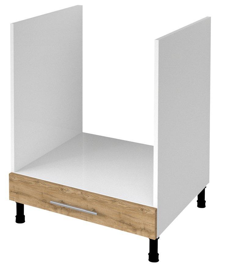 TERNO spodní skříňka pro vestavnou troubu 60x72x52 cm, dub emporio