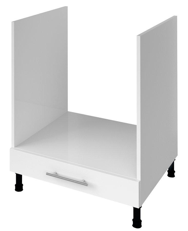 TERNO spodní skříňka pro vestavnou troubu 60x72x52 cm, bílá lesk