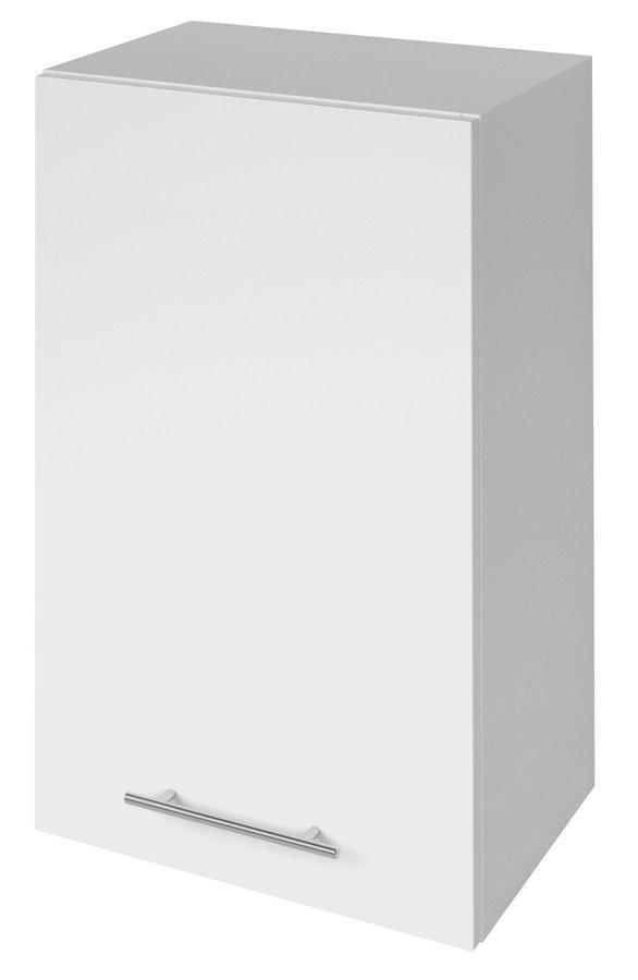 TERNO skříňka horní s dvířky, 40x72x30 cm, bílá lesk
