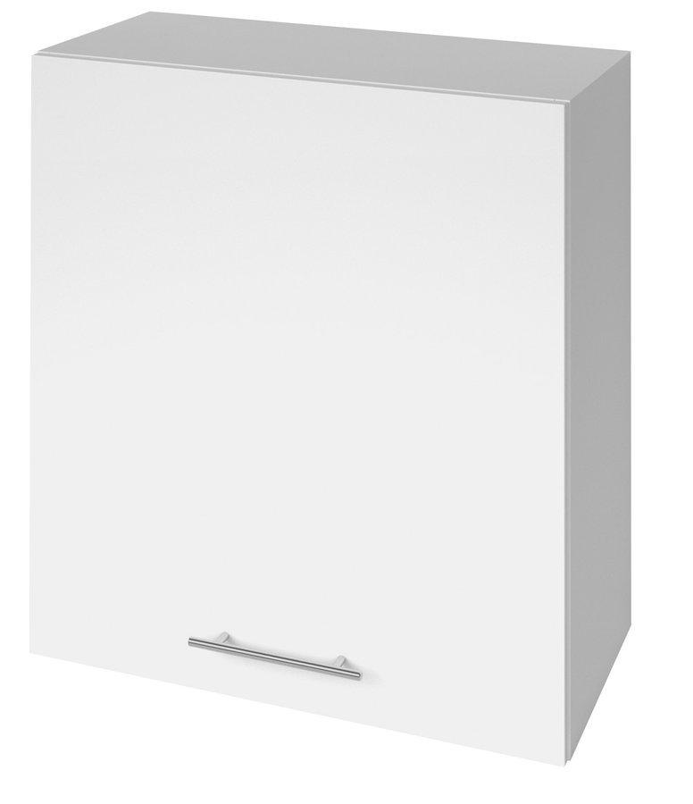 TERNO skříňka horní s dvířky, 60x72x30 cm, bílá lesk