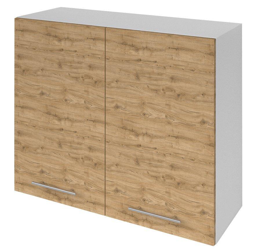 TERNO skříňka horní s 2 dvířky, 80x72x30 cm, dub emporio