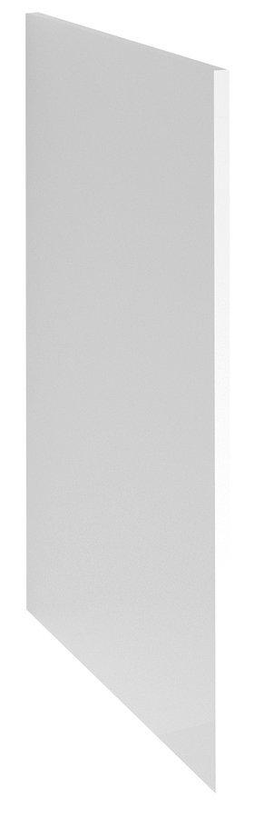 TERNO ukončovací bočnice spodní 58x87 cm, bílá lesk