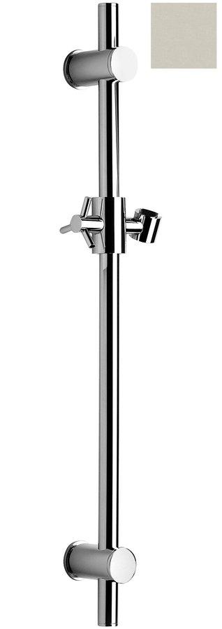 Posuvný držák sprchy kulatý, 700mm, nikl