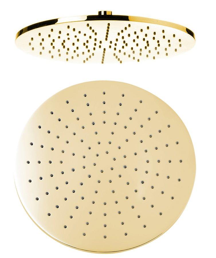 Hlavová sprcha, průměr 300mm, zlato