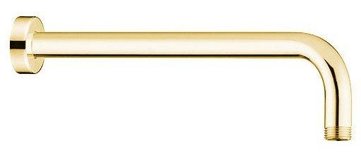 Sprchové ramínko kulaté, 400mm, zlato