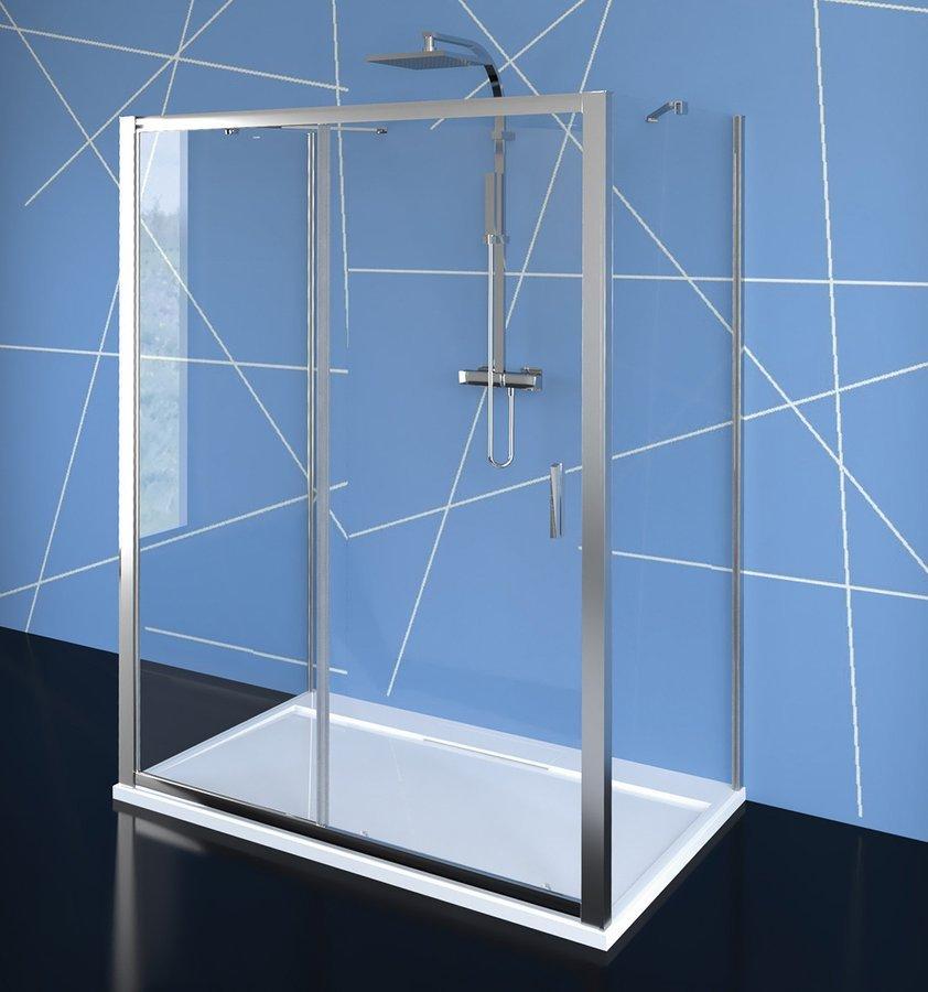 EASY LINE třístěnný sprchový kout 1500x700mm, L/P varianta, čiré sklo