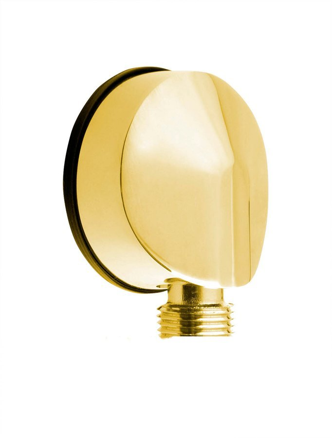Vývod sprchy, průměr 50mm, zlato