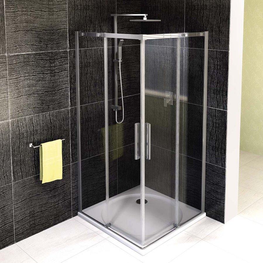 ALTIS LINE čtvercový sprchový kout 900x900 mm, rohový vstup, čiré sklo