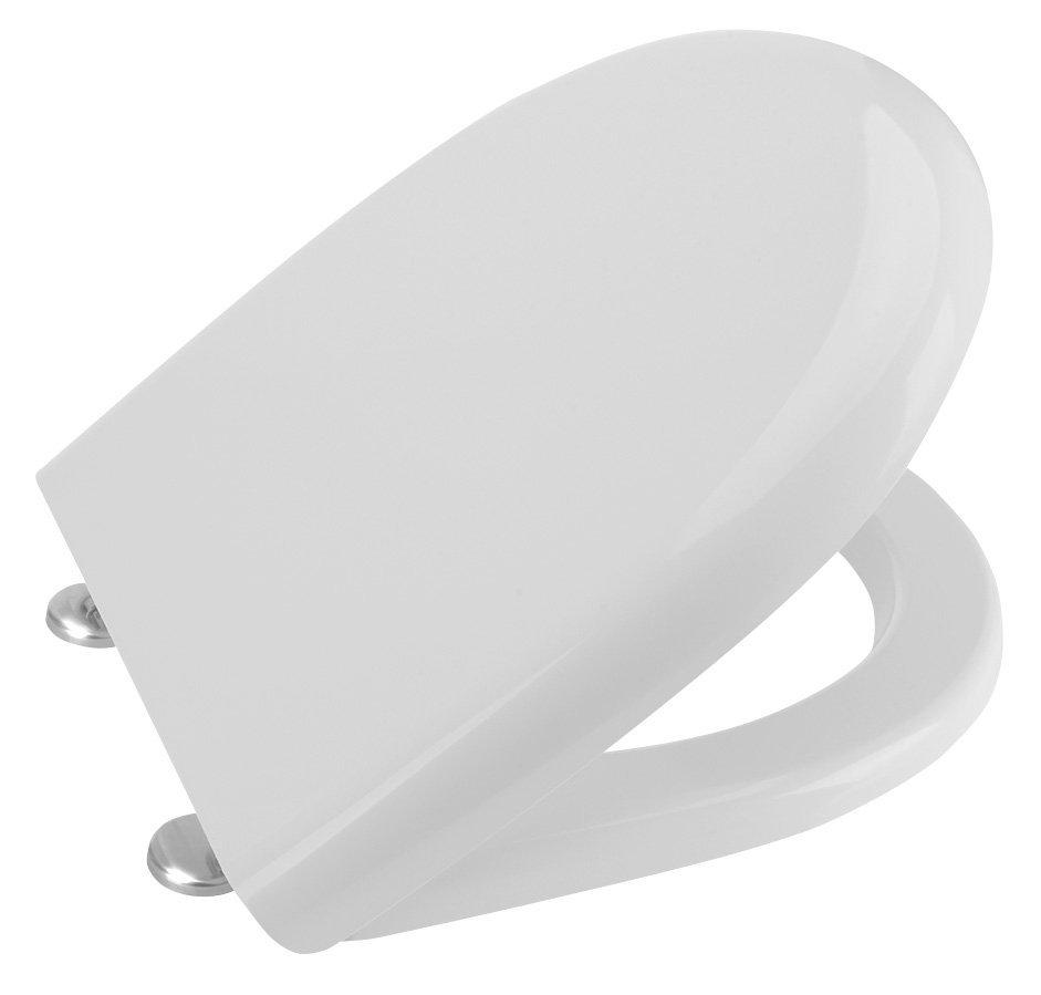 ABSOLUTE / RIGA WC sedátko Soft Close, duroplast, bílá