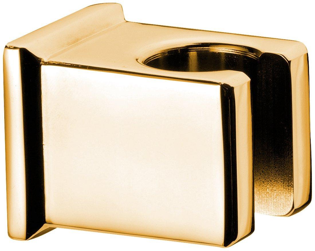Držák sprchy hranatý, pevný, zlato