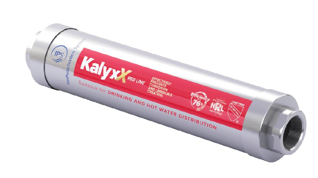 """Změkčovač vody IPS Kalyxx RedLine - G 3/4"""""""