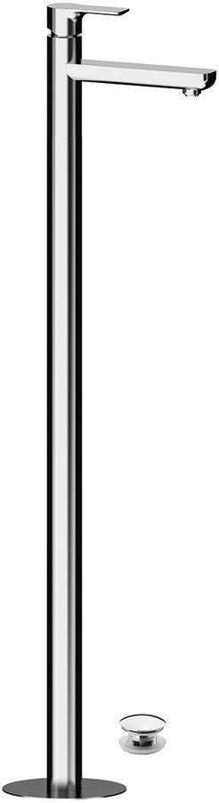 PAX umyvadlová baterie s připojením do podlahy, chrom