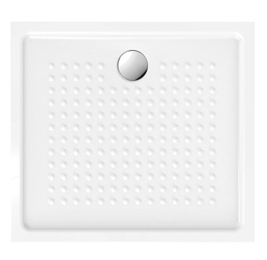 Keramická sprchová vanička,obdélník 100x90x4,5 cm