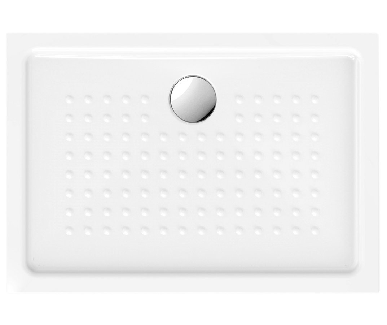 Keramická sprchová vanička,obdélník 100x70x4,5 cm