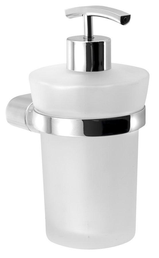 MIDA dávkovač mýdla, chrom/mléčné sklo