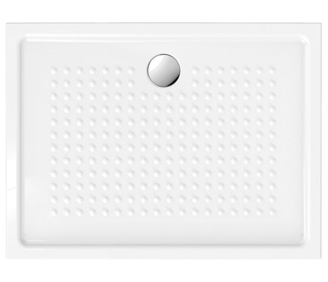 Keramická sprchová vanička, obdélník 120x90x4,5 cm