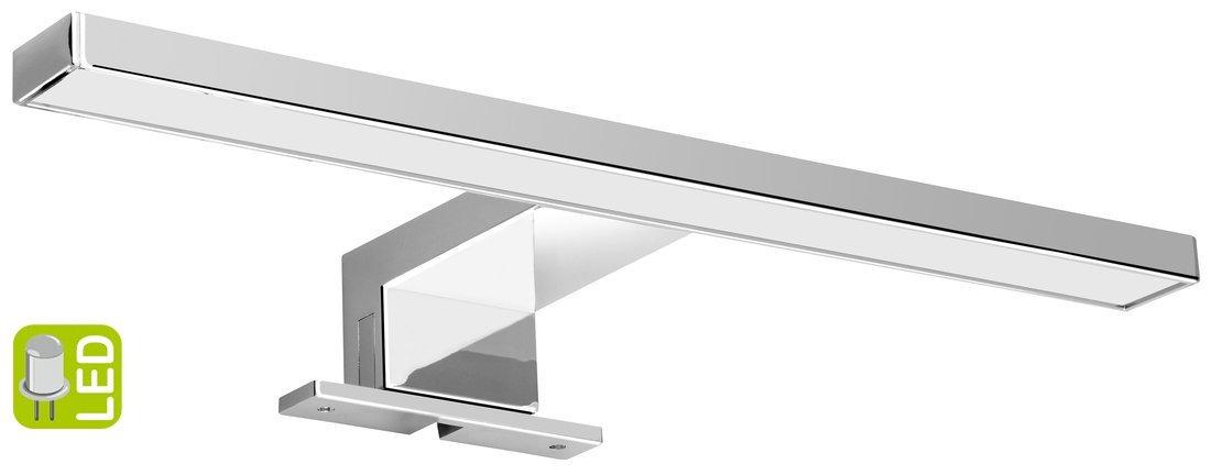 SERAPA LED svítidlo 4,5W, 230V, 300x40x100mm, plast, chrom