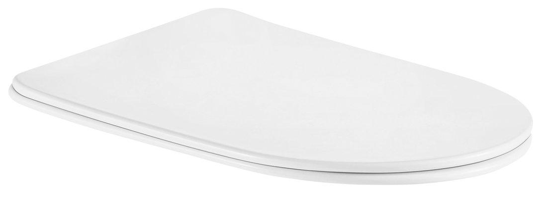 SIA WC sedátko SLIM Soft Close, Easy Take, duroplast, bílá/chrom