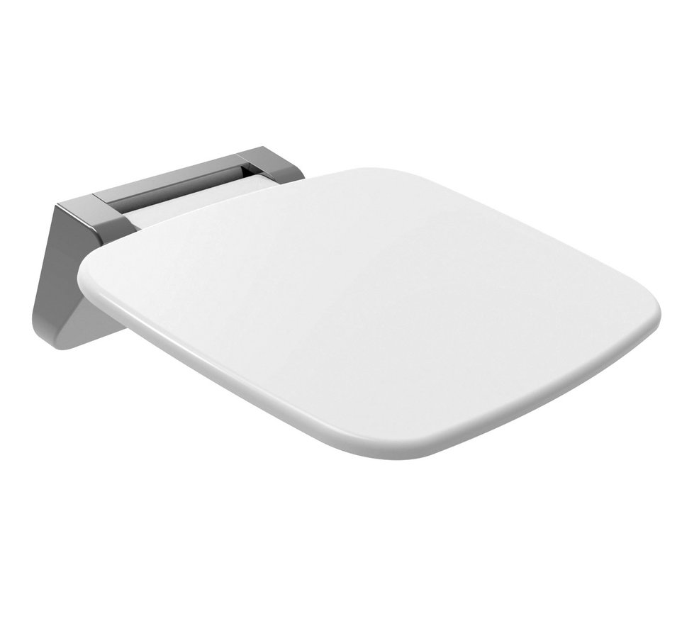 SAAP sprchové sedátko, 35x32,8cm, sklopné, bílá