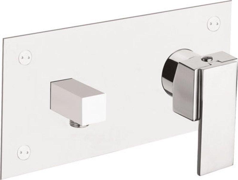 MASTERMAX podomítková sprchová baterie s vyústěním pro sprchu, chrom