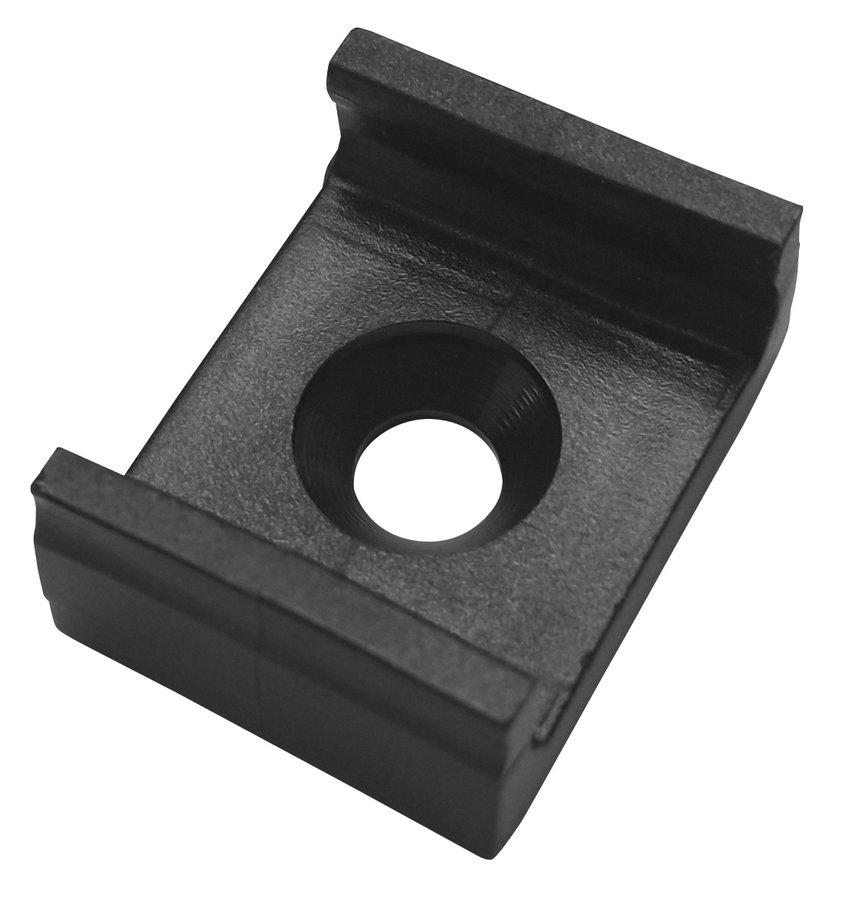 Úchytka profilu KL1606, PVC, černá
