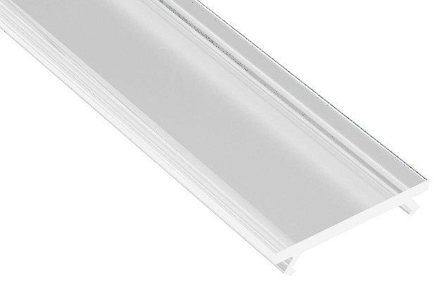 Kryt LED profilu KL1606, 2m, průhledný