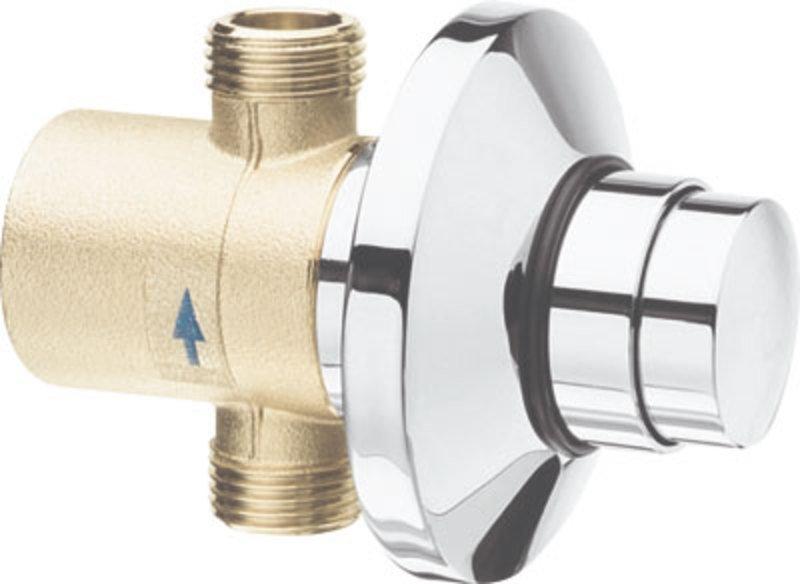 QUIK samouzavírací podomítkový ventil pro urinal, chrom