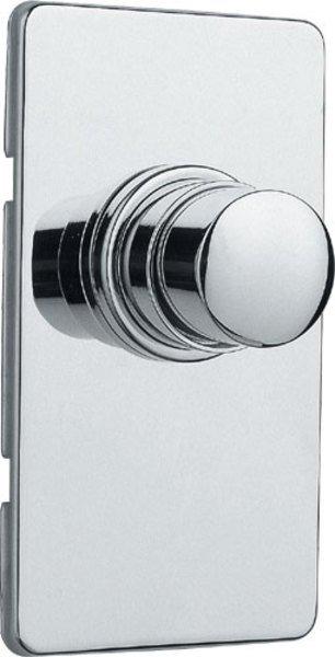 QUIK samouzavírací podomítkový WC ventil, chrom