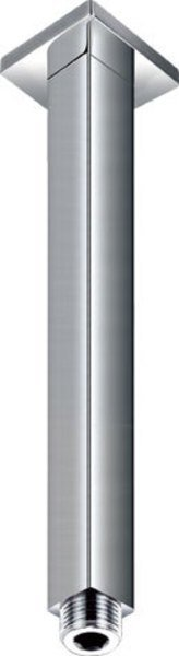Sprchové stropní ramínko, hranaté, 150mm, chrom