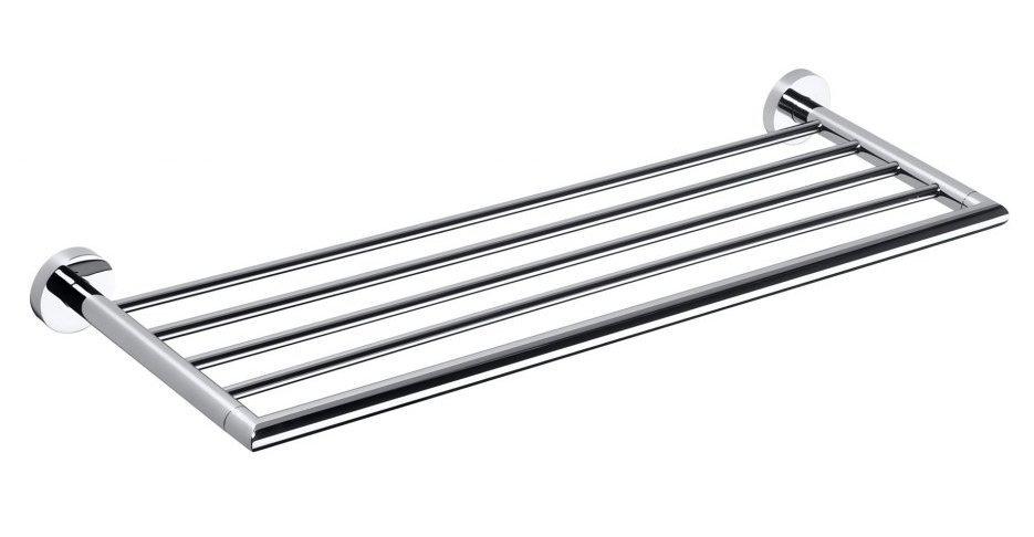 X-ROUND polička na ručníky 650mm, chrom