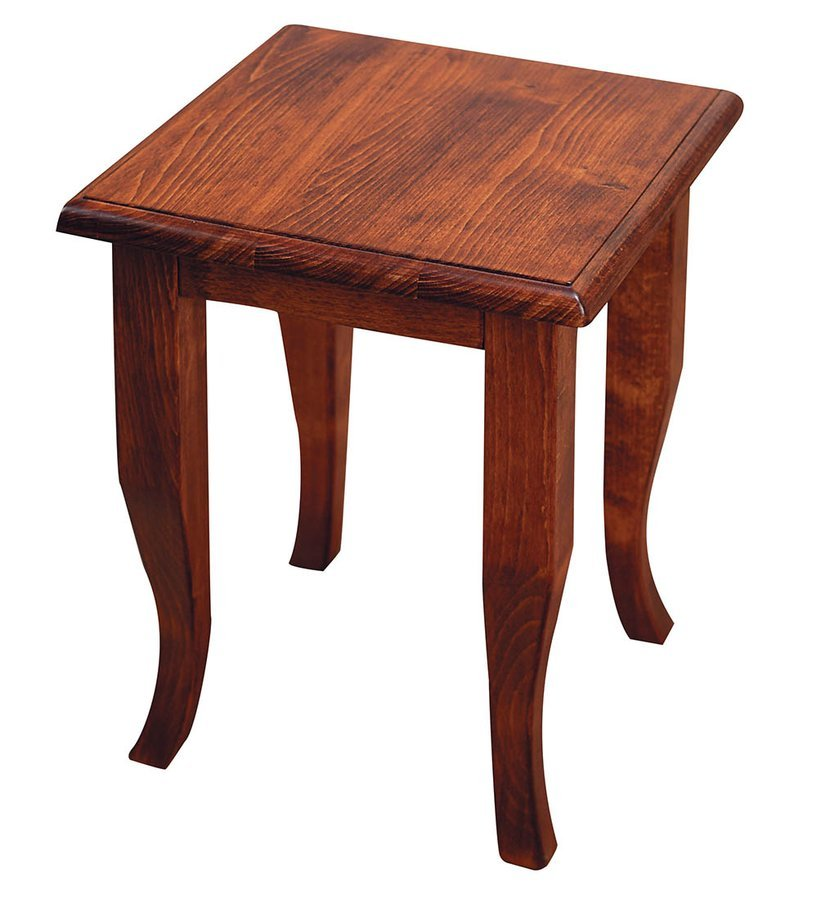 RETRO stolička 33x45x33cm, buk