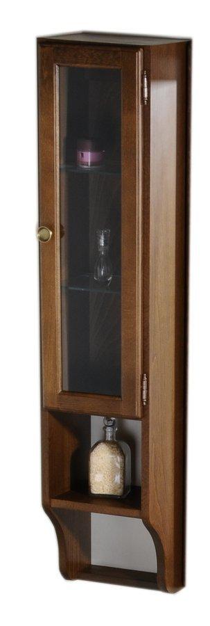 RETRO skříňka k zrcadlu 25x115x20cm, buk, pravá