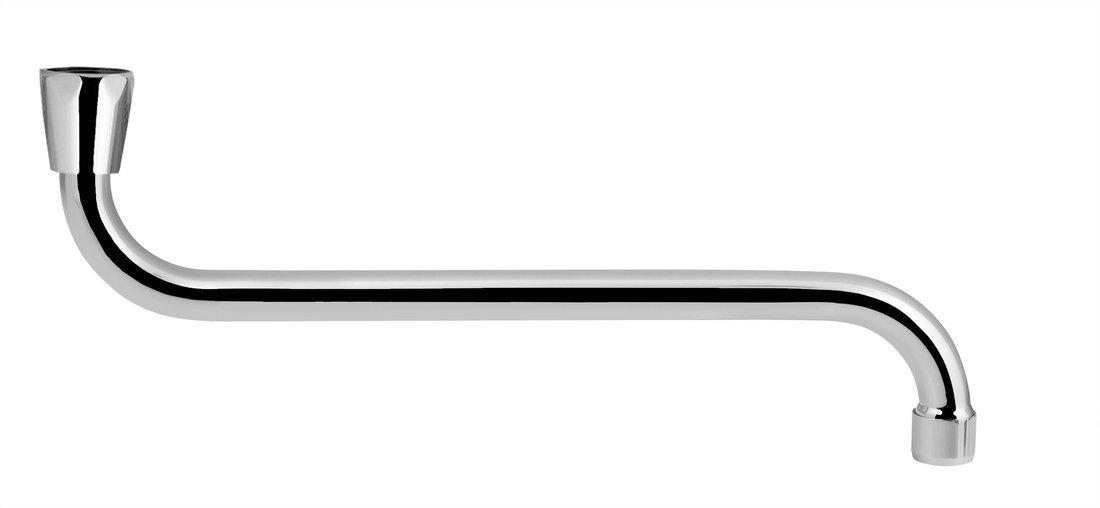 Universální výtokové ramínko kbaterii, 31cm, typ-S, chrom