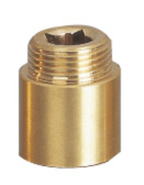 Prodloužení 1/2'x25mm, mosaz