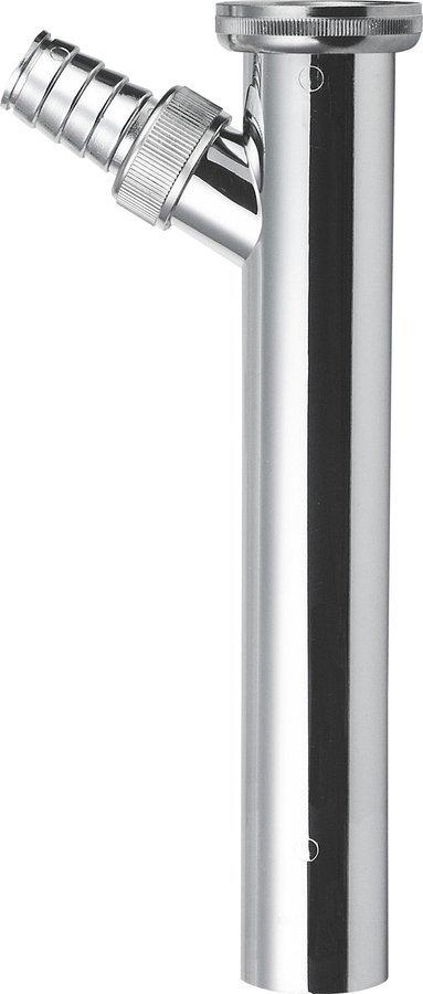 Prodlužovací kus s odbočkou 1'1/4, odpad 32mm, délka 200mm, chrom