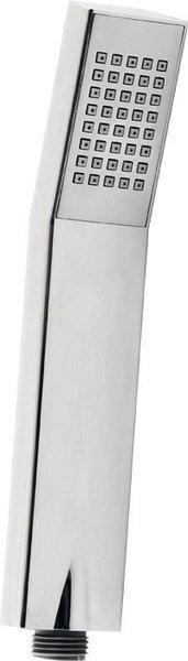 Ruční sprcha, 210mm, hranatá, ABS/chrom