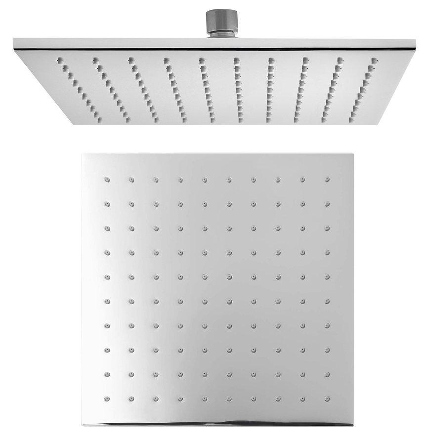 Hlavová sprcha, 250x250mm, chrom