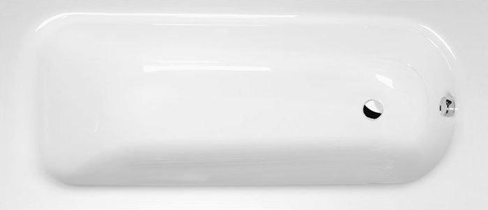LAURA obdélníková vana 160x70x39cm, bílá