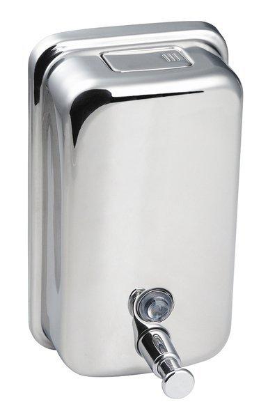 Dávkovač tekutého mýdla 400 ml, leštěný nerez