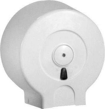 Zásobník na toaletní papír do průměru 29cm, ABS bílá