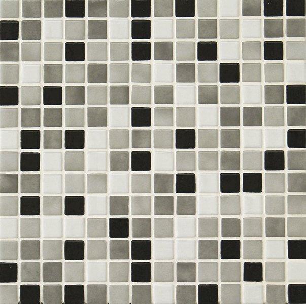 MIX 25008-D plato skleněné mozaiky 2,5x2,5cm; 0,154m2