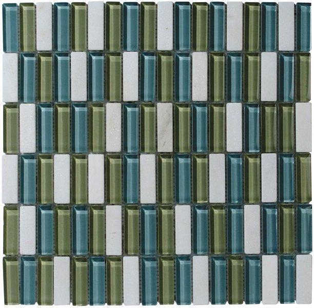 CORNY MOSAIC (ZYXT011) plato 30x30, 1,5x4,8 cm (bal. 11ks)