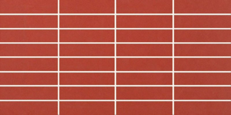 ENZO Mosaico Rojo 20x40 (bal.=1,2m2)
